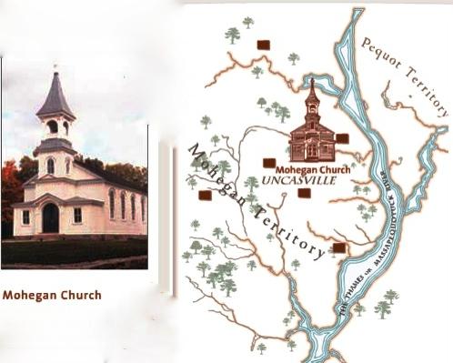 Mohegan meetinghouse, 1831