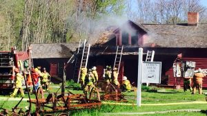 Avon Fire, Derrin Farmhouse, May 11, 2016